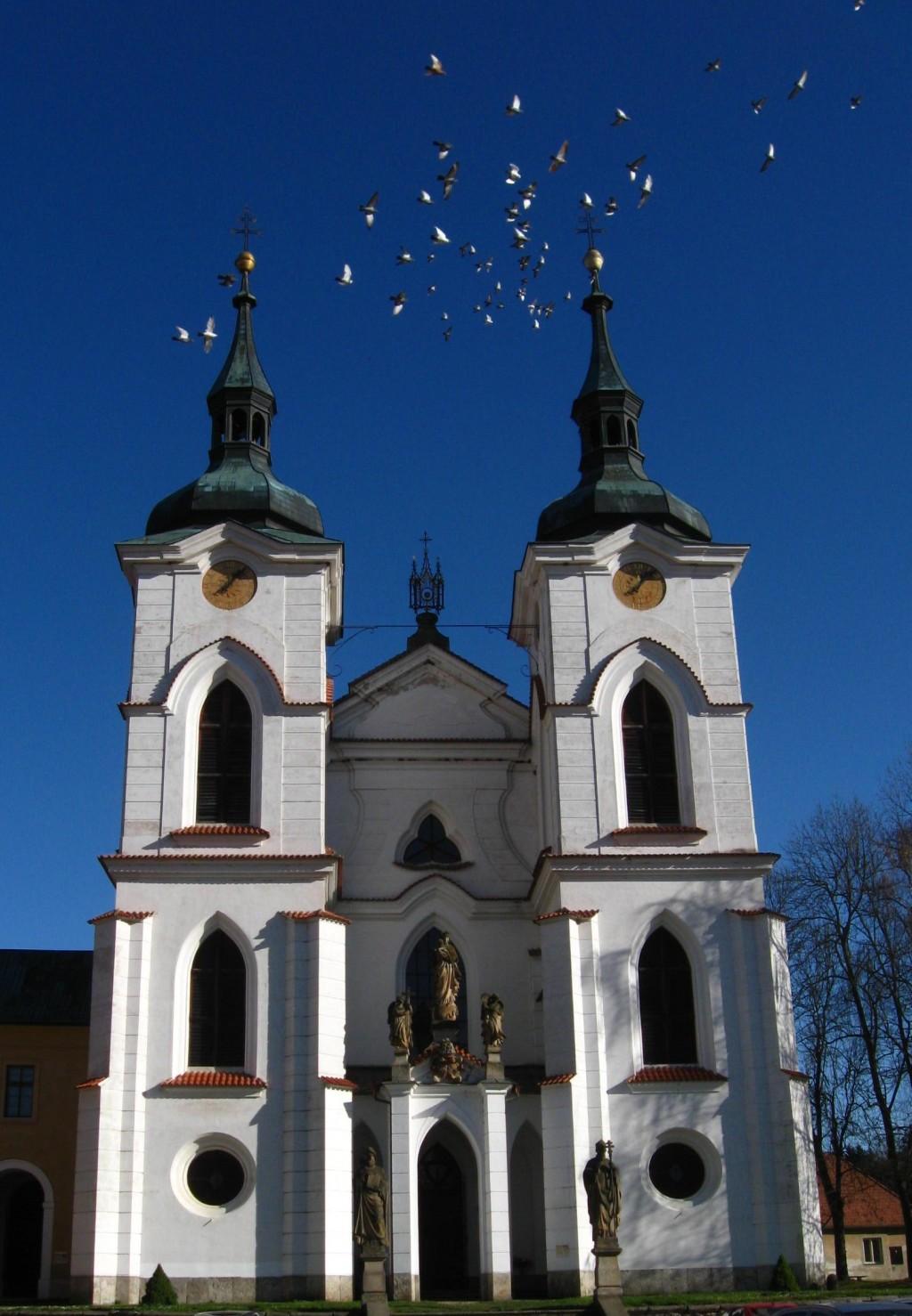 Klášterní kostel Narození Panny Marie